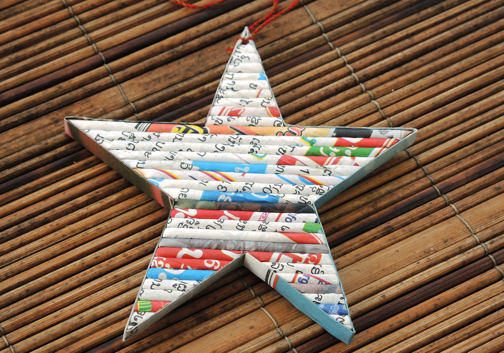 Faire Welt - Recyclingpapier Produkte star